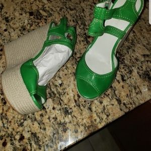 Summer wedge Nine west sandals